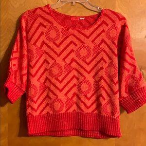 ❤️Lux: Geometric/Zig Zag Sweater